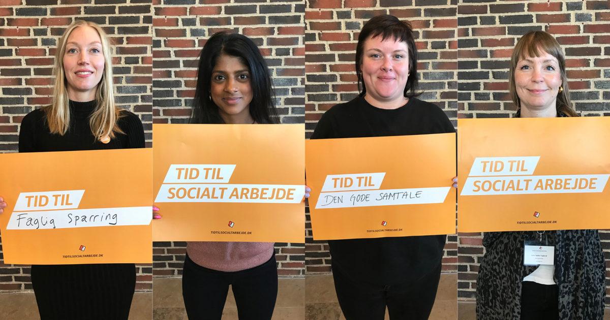 Ny kampagne skal forbedre socialrådgivernes arbejdsmiljø